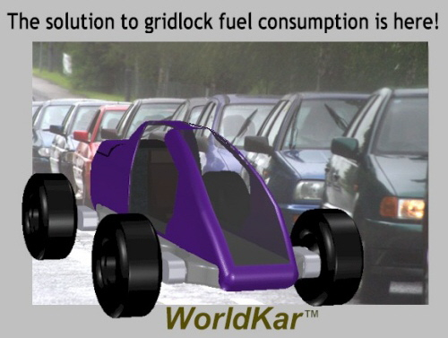 Designed to solve rush hour fuel overconsumption