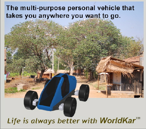 Fuel-efficient WorldKar smooths out India's back roads