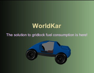 WorldKar, Solution to gridlock fuel consumption is here!